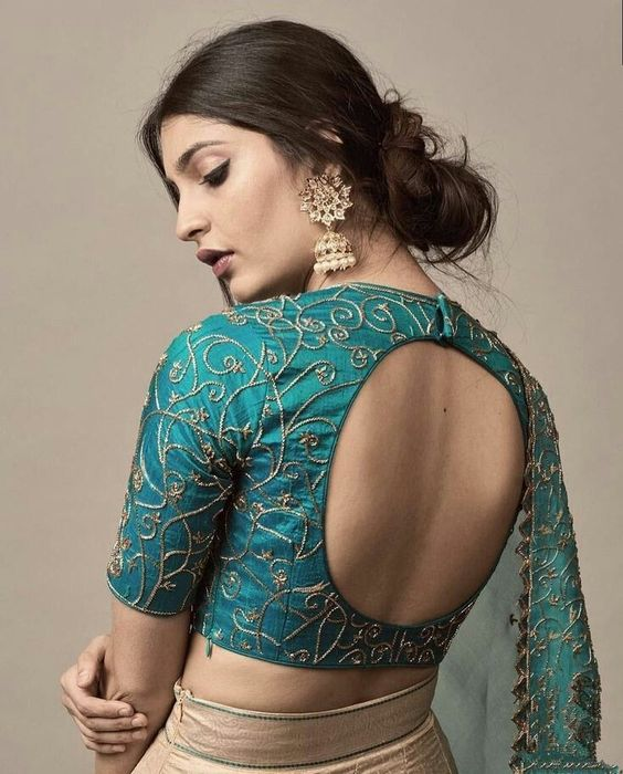 10 Blouse Designs Which Will Leave You Mesmerized