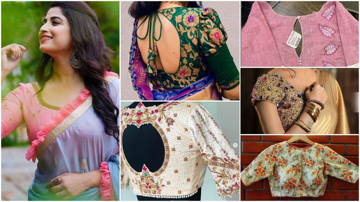 Amazing Designer Blouse designs