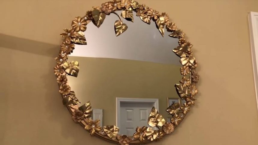 Anthropologie Inspired Wall Mirror