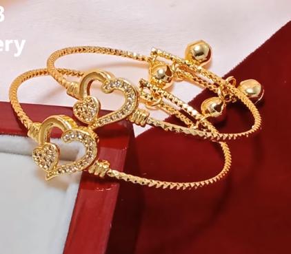 Baby Gold Bangle Designs