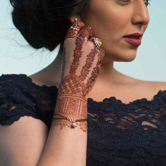 Beautiful Diamond Bracelet Mangalsutra