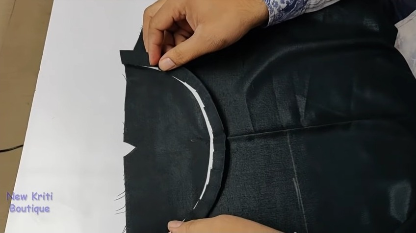Boat Neck Design Cutting and Stitching