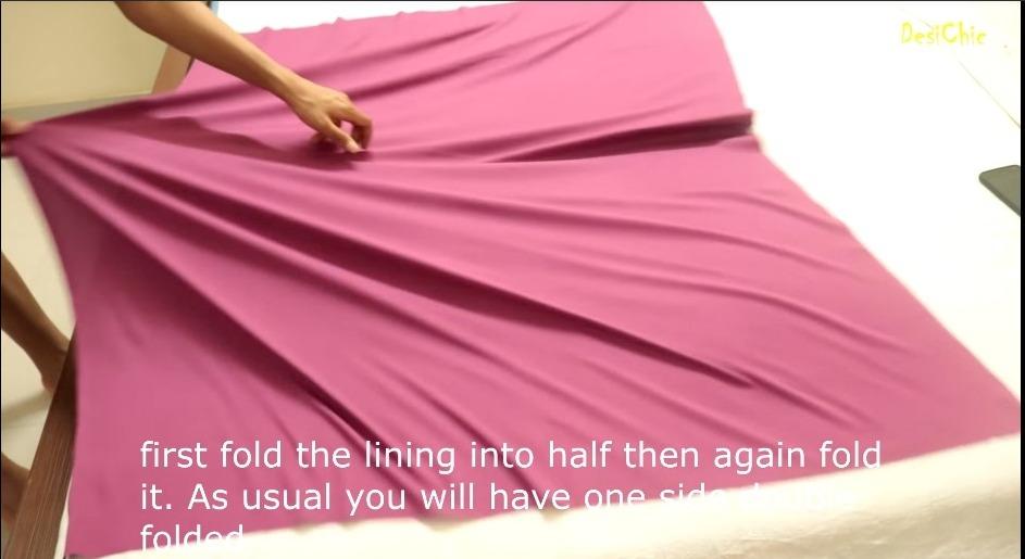 Convert Old Saree Into Umbrella Sleeve Top