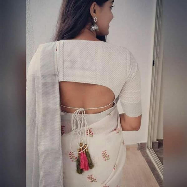 Blouse Back Neck Designs for Stylish Look