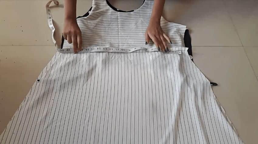Designer Kurti Cutting and Stitching
