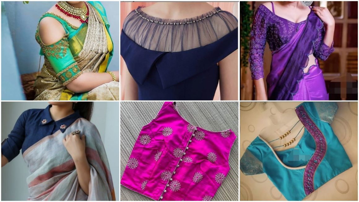 Different Types Blouse Patterns