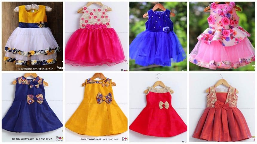 Different types of frocks designs