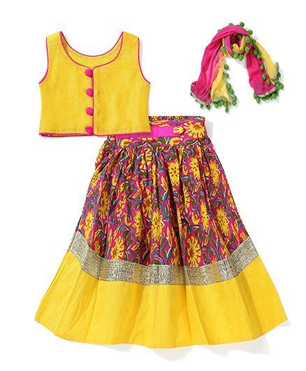 Different Types of Kids Lehengas