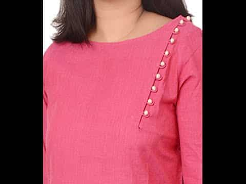 Different Types of Kurti Designs Cutting and Stitching