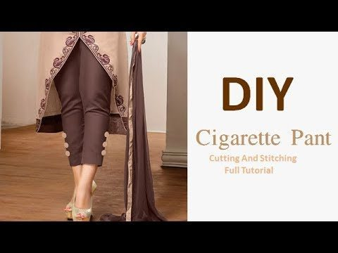 Different Types of Pants Cutting and Stitching