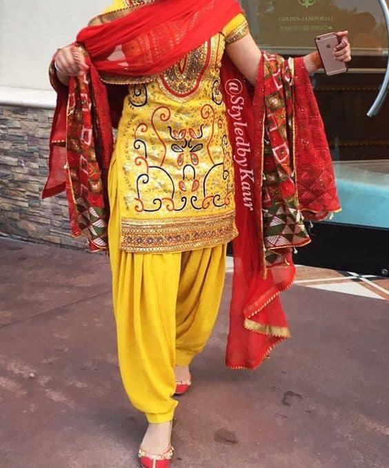 Different Types of Punjabi Suit Designs