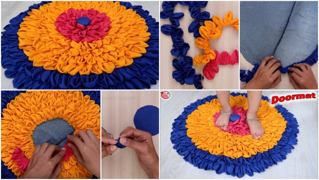 Easy and Fast Doormat Making at Home