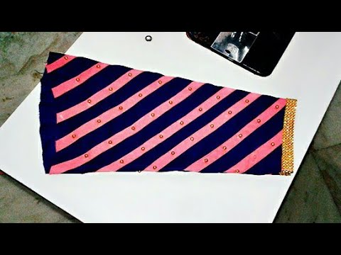Easy Sleeve Designs - Cutting and Stitching