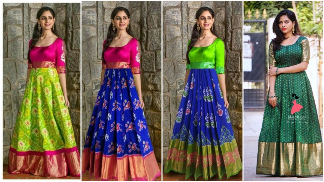 Gown Ideas From Old Sarees