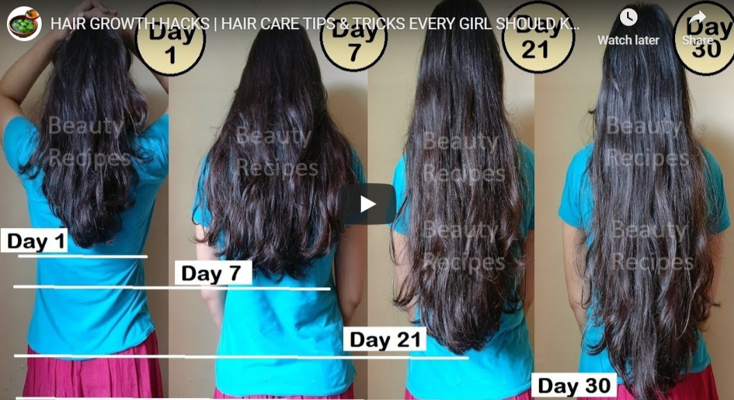 Grow Your Hair Faster and Longer