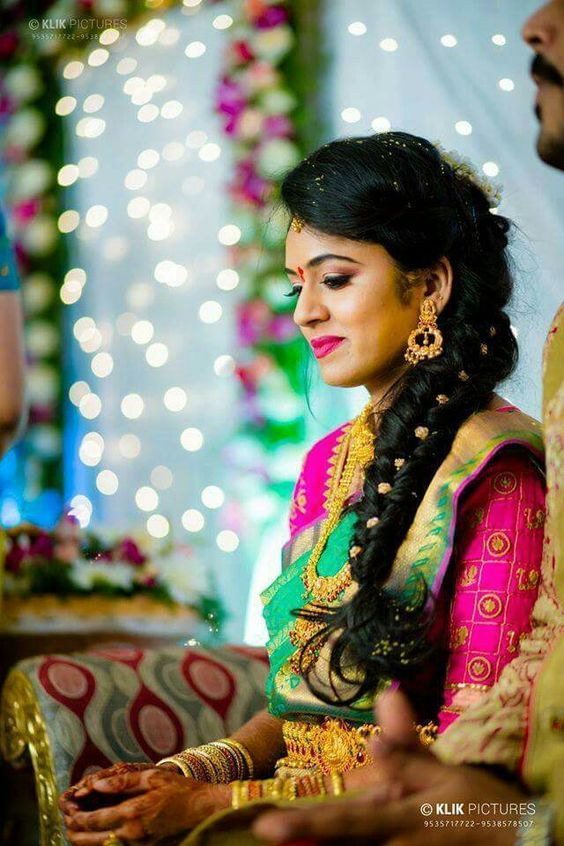 Indian Bridal Wedding Hairstyle Trends