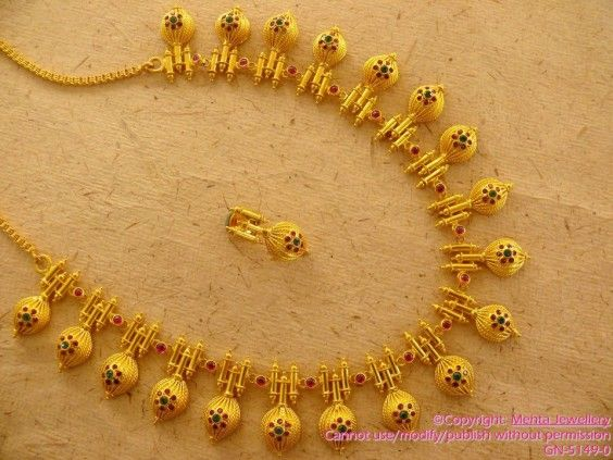 Indian Jewellery Necklace Design Collection