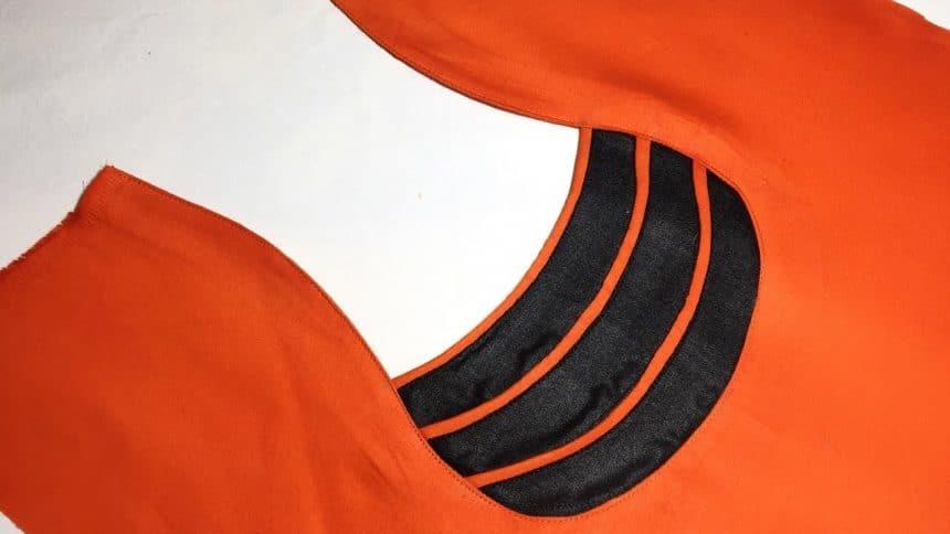 Kurti Neck Design Cutting and Stitching