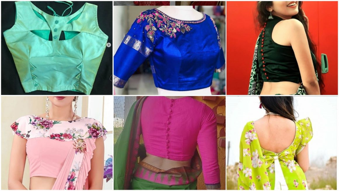 Latest and Trendy Blouse Designs
