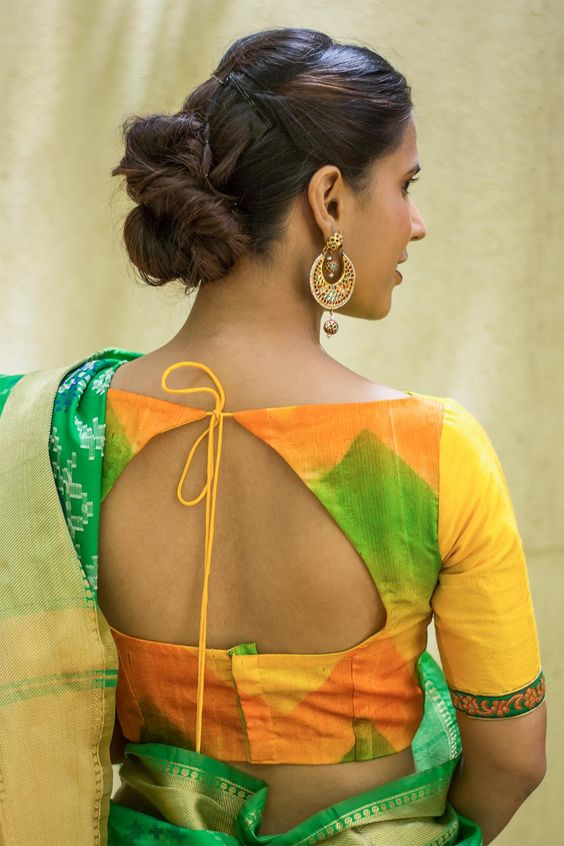 Latest Blouse Neck Designs