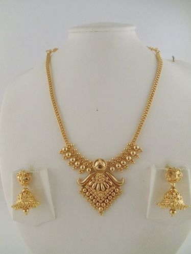 Latest Light Weight Gold Necklace Designs