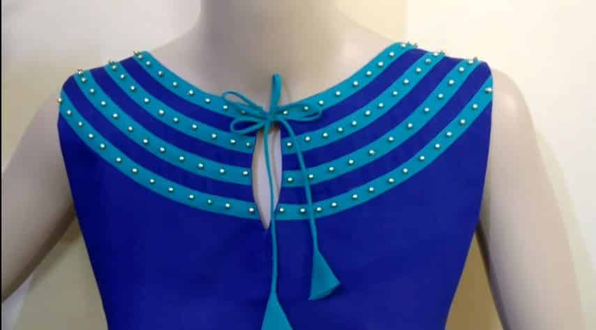 Latest Boat Neck Design Cutting and Stitching