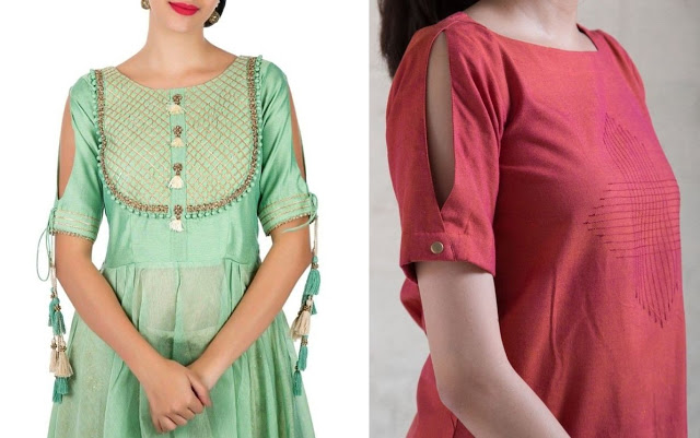 Latest Sleeve Designs for Kurti
