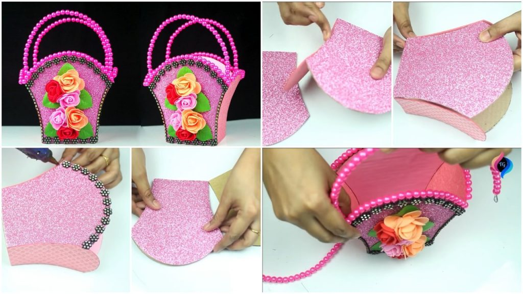Make Your Own Basket from Waste Material