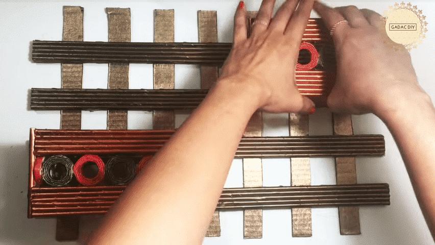 Newspaper Crafts for Home Decor