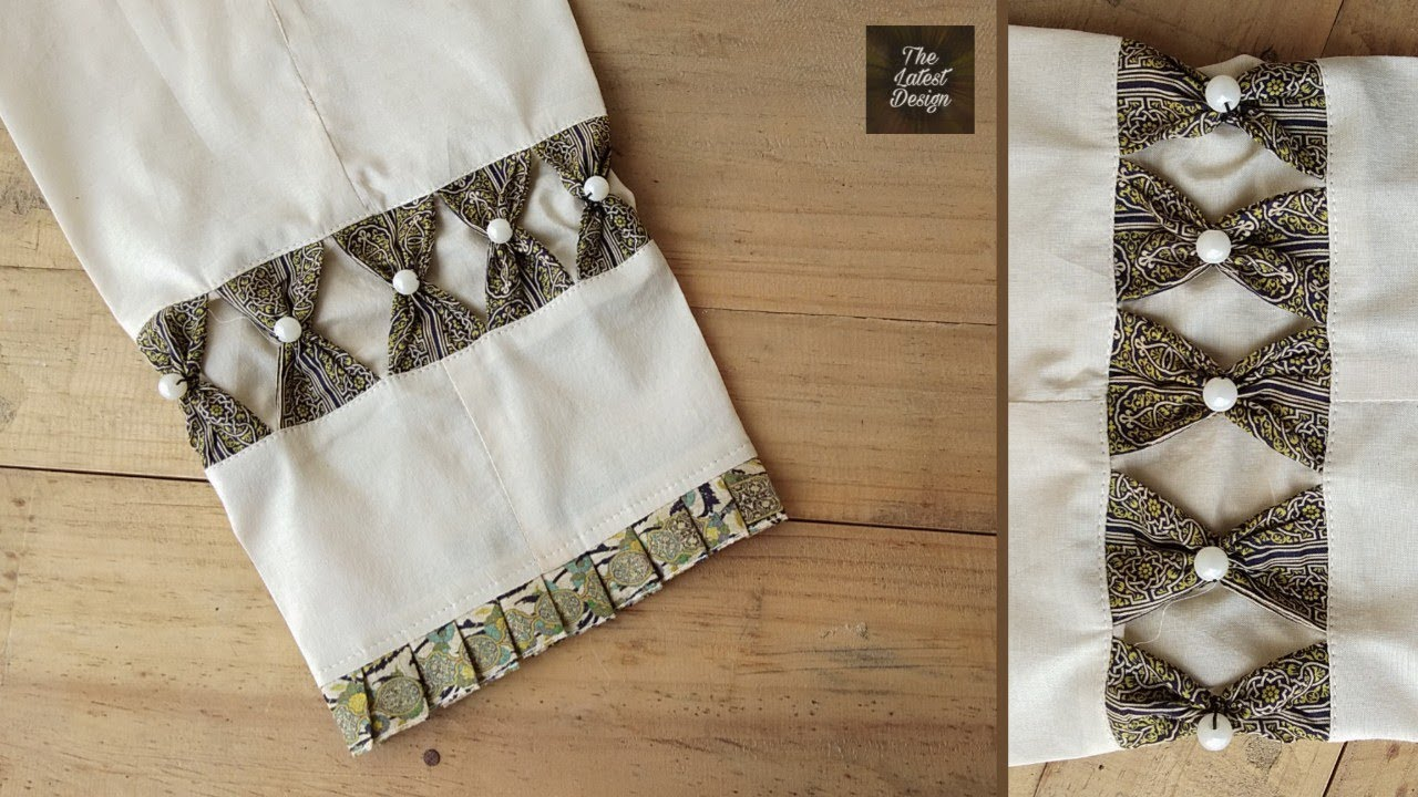 Perfect Sleeve Cutting and Stitching