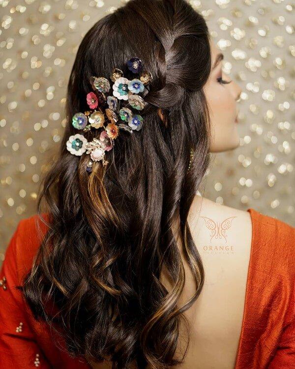 Pretty Bridesmaid Wedding Hairstyles