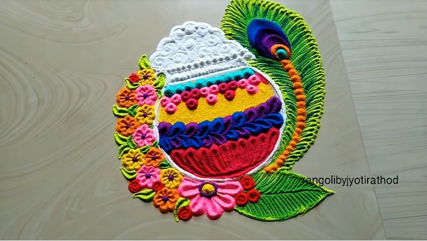 Satisfying Rangoli Art