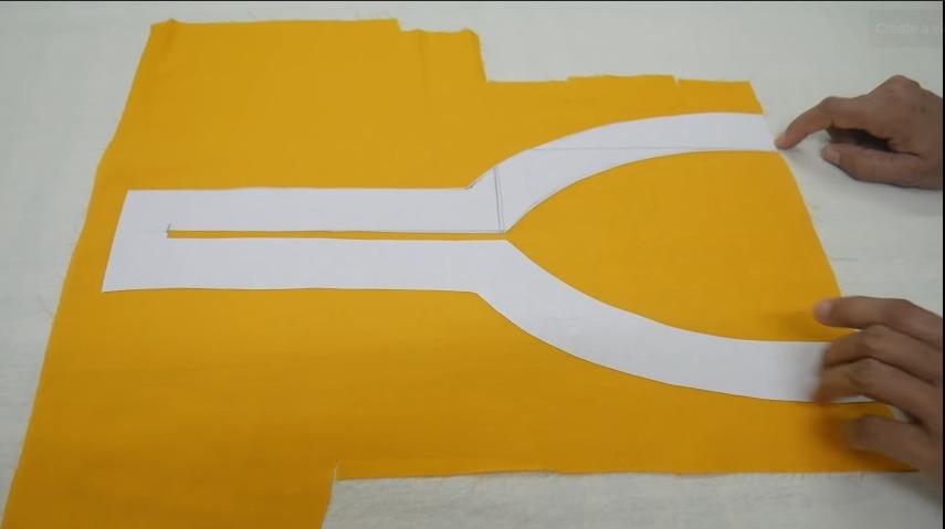Cool Summer Neck Design for Kurti