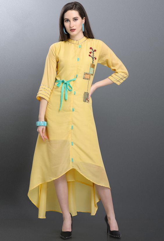 Stylish and Fashionable Kurti Designs