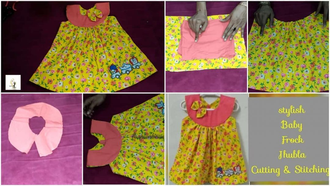 Stylish Baby Cotton Jhabla Frock