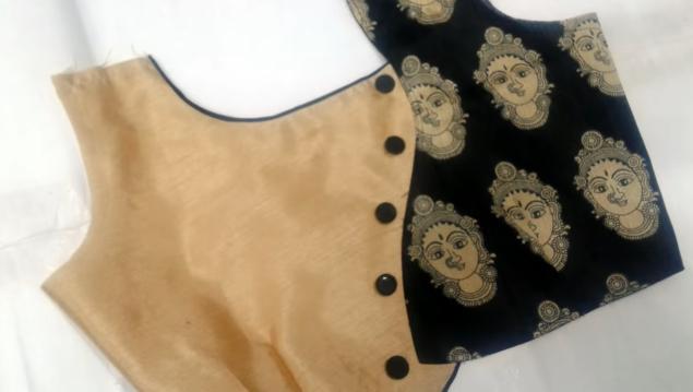 Stylish Blouse Back Neck Designs
