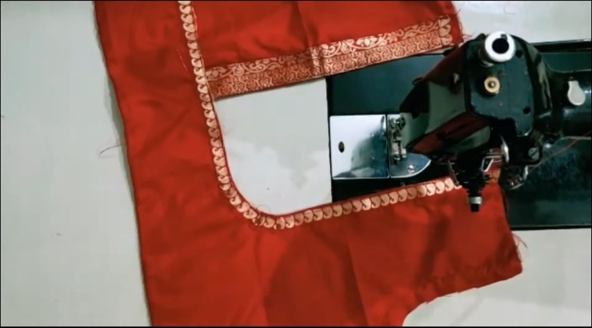Stylish Blouse Cutting and Stitching