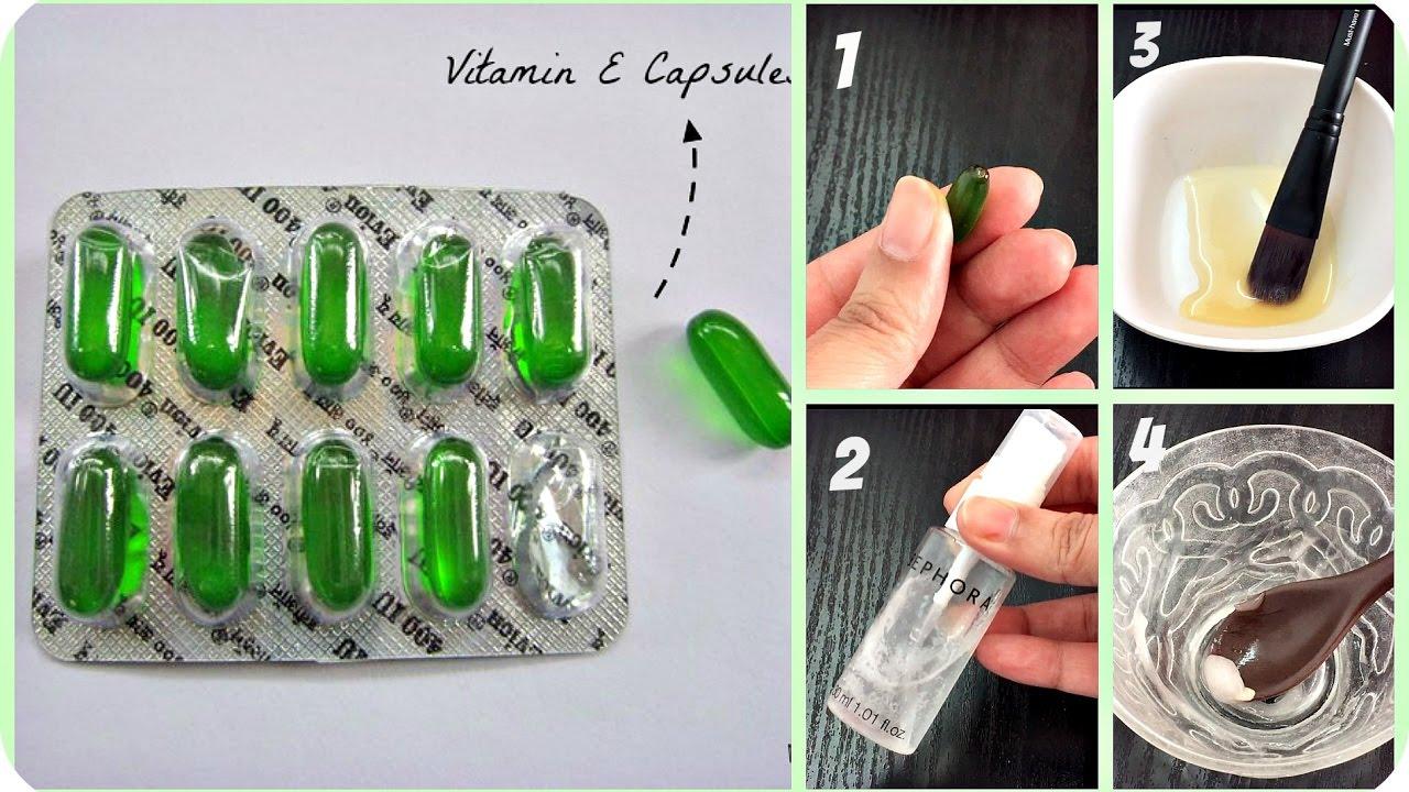 Top 5 Uses of Vitamin E Capsules