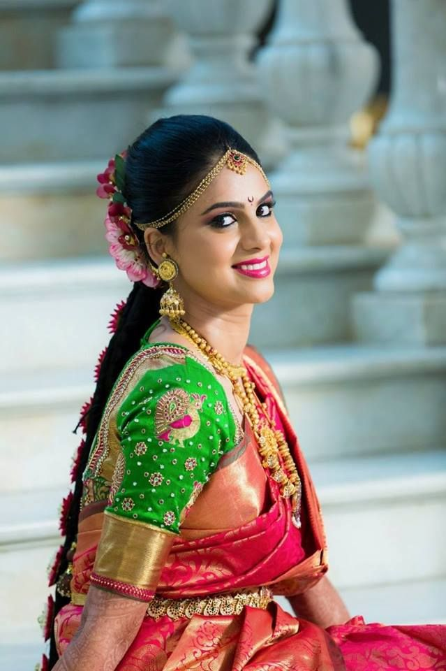 Traditional South Indian Bridal Look