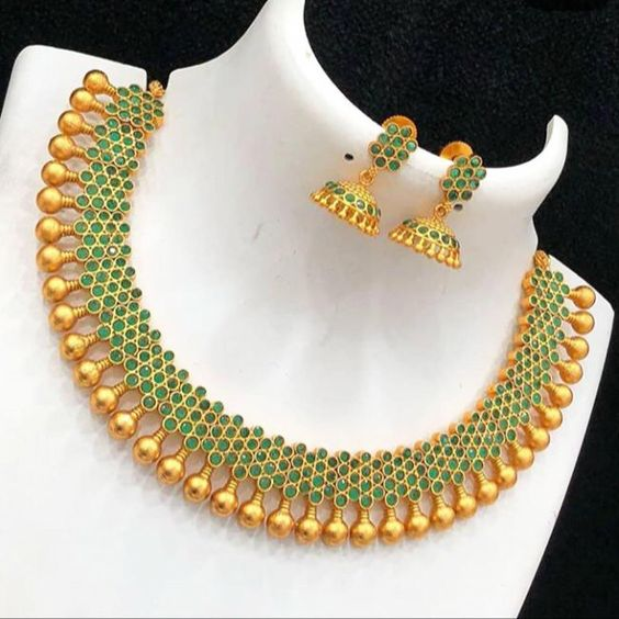 Traditional South Indian Necklace Designs