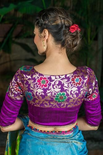 Trendy and Stylish Blouse Designs