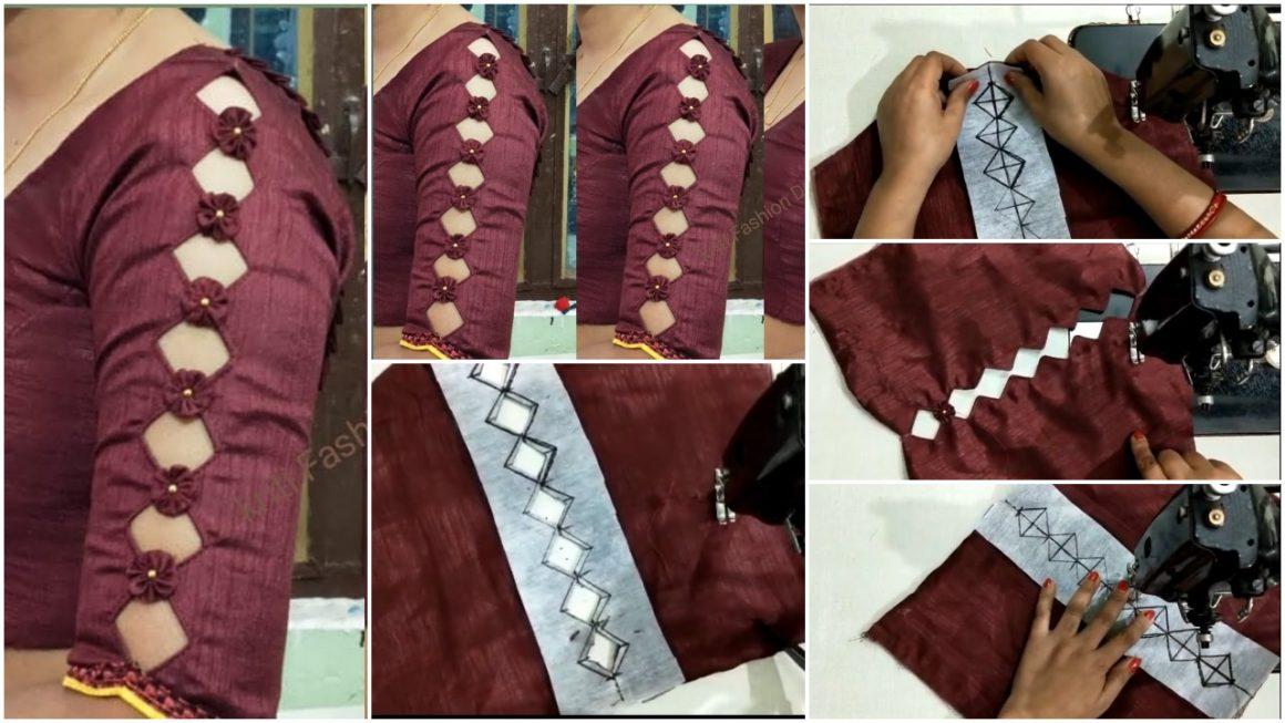 Trendy Blouse Sleeve Design