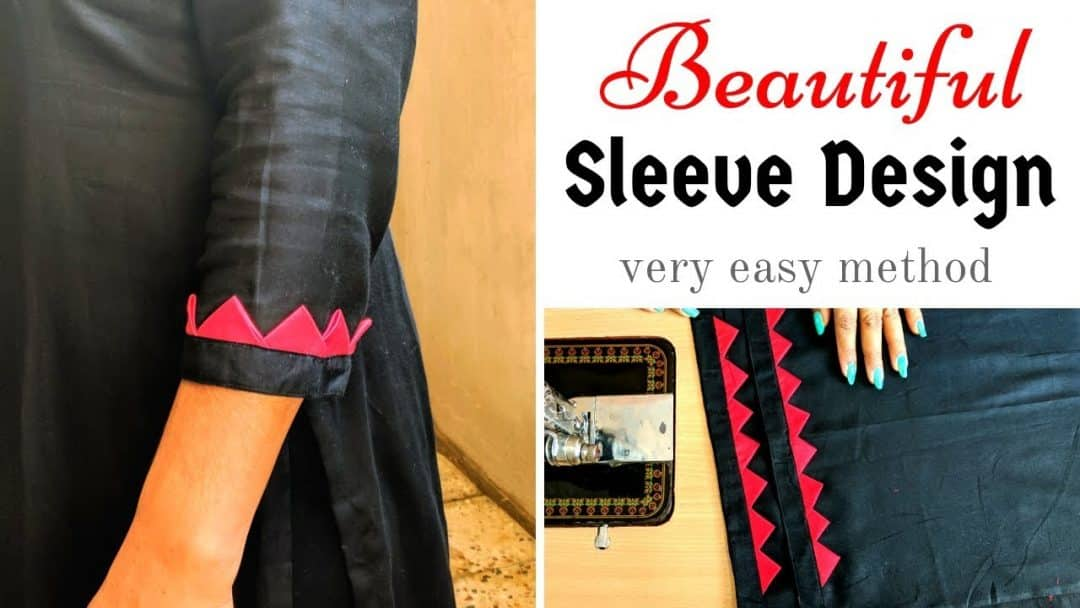 Unique sleeve designs - Cutting and Stitching
