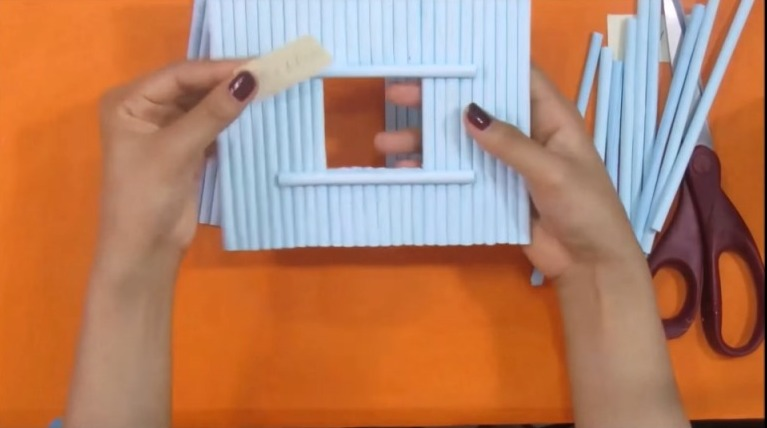 Beautiful Paper House With Playground