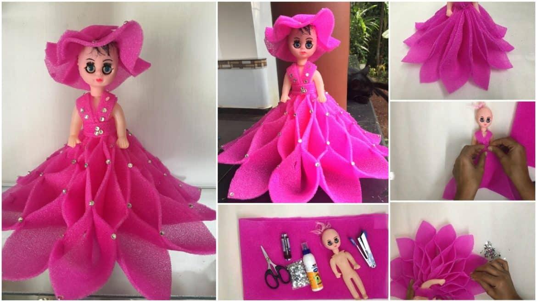 Doll Dress from Foam