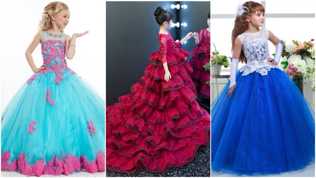 Elegant Luxury Girls Party Dresses