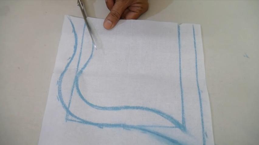 Stylish Neck Design Cutting and Stitching