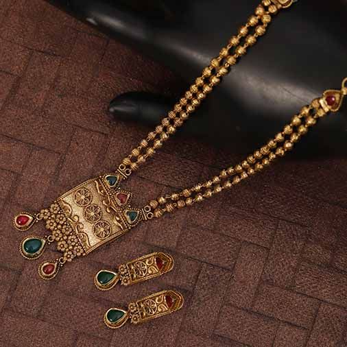 Antique Gold Necklace Designs