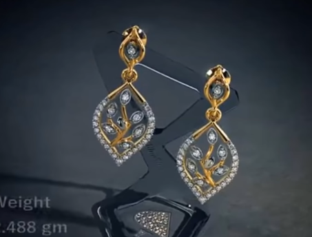 Traditional Gold Earring Designs for Women