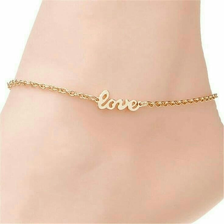 Beautiful Anklet Designs for Girls